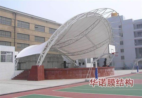 膜结构建筑广场